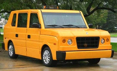 Proposed Taxi Somehow Uglier Than PT Cruiser
