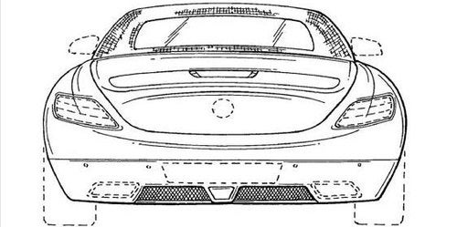Mercedes SLS AMG Convertible Leaked In Patent Application