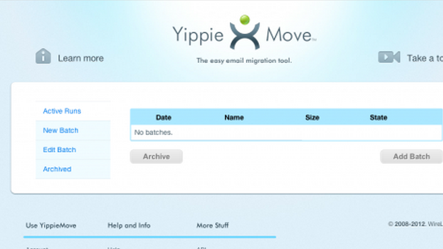 YippieMove Migrates Your Email and Attachments to a New Account