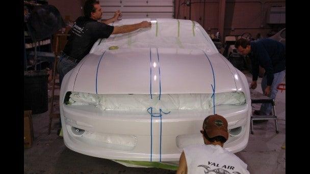 Lamborghini Gallardo Mustang: Build Photos