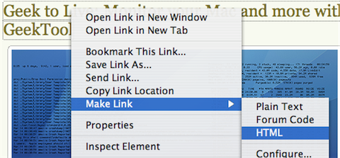 Download of the Day: Make Link (Firefox)