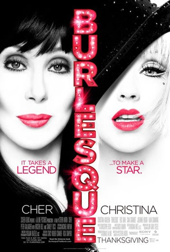 Burlesque Poster Features Cher, Xtina, And Their Lips