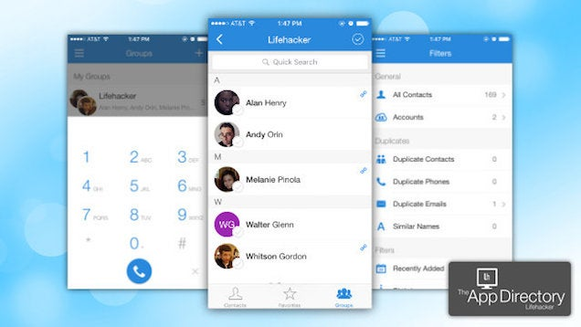 The Best Address Book App for iPhone