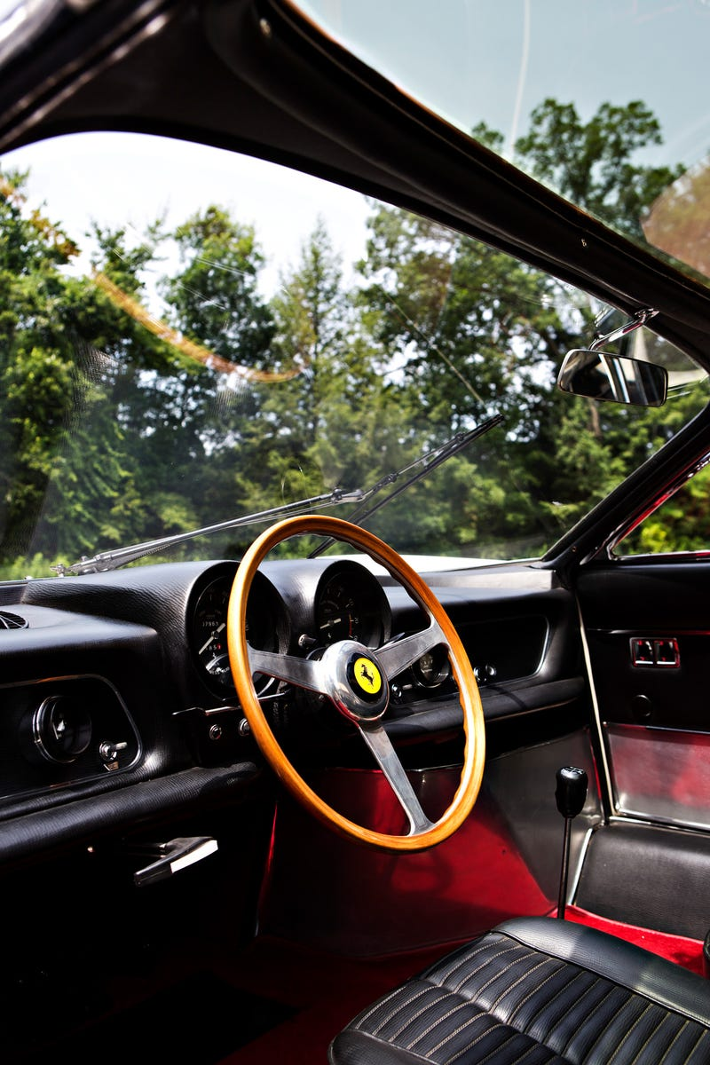 This Ferrari Had The McLaren F1's Three-Seater Layout 26 Years Earlier