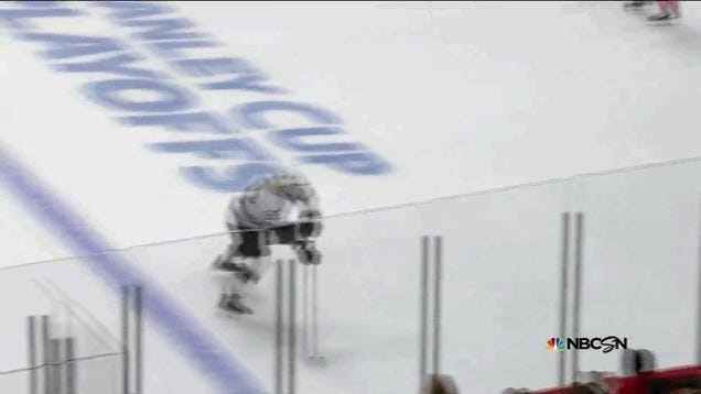 The End Of The First Period Of Kings-Hawks Was A Goal Smorgasbord