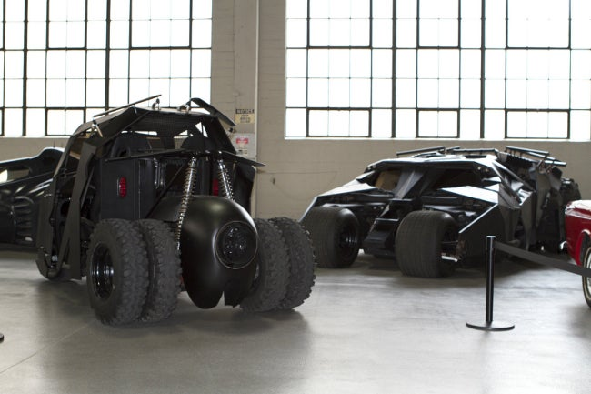 Who's foolish enough to not bid on a Batman Tumbler golf cart?