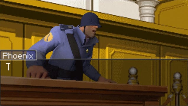 Team Fortress 2's Soldier Would Be A Terrible Attorney