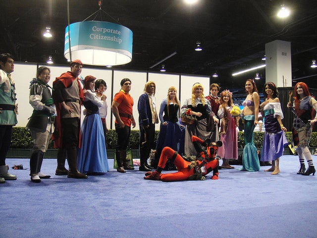 Disney Cosplayers Get Creative at D23 Expo