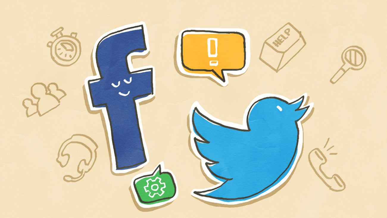 How to Get Better Customer Service over Facebook or Twitter