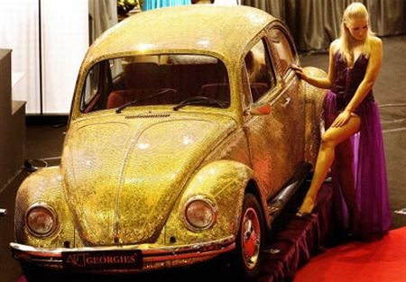 Buy an $88,000 VW Beetle, Get the Gold for Free