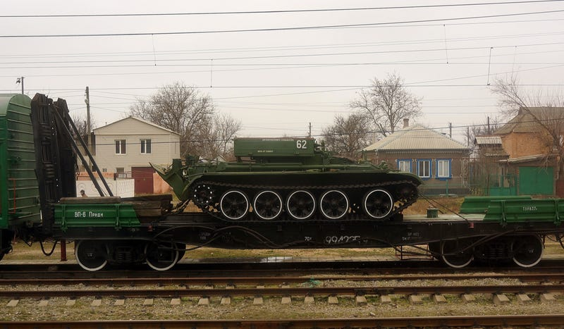 Don't Expect A Rush To Bring Ukraine's Tanks Out Of Storage