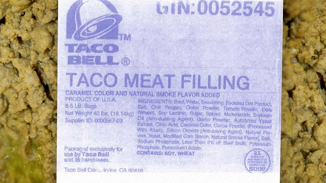 Taco Bell Clarifies: That Recent Lawsuit Is Bogus—Our Seasoned Beef Recipe Is 88% Beef!