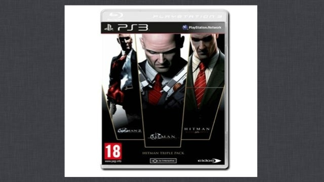 Looks Like The Hitman Series is Getting an HD Makeover