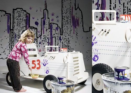 The Joyride Flat Pack Kids Car