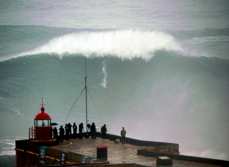 This Is Possibly The Biggest Wave Ever Surfed