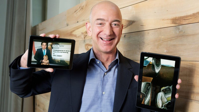 Photoshop Contest: Why Is Jeff Bezos Smiling?
