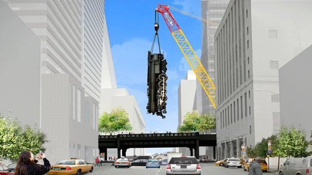 The High Line's Terrifying New Art Commission