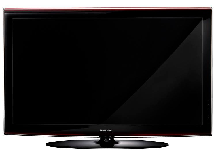 Samsung's High-End LCDs for 2008: Series 6 and 7 HDTVs Get Ethernet, Amber Tint, but No LEDs (WTF?)