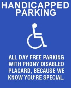News Flash: Not All Disabled Parking Placards Are Legit!