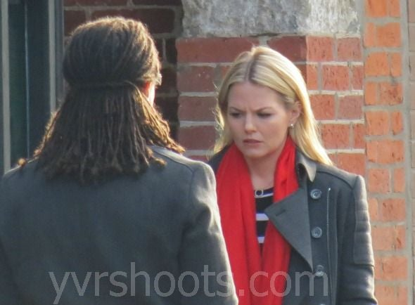 Once Upon A Time Behind the Scenes Photo episode 2.14