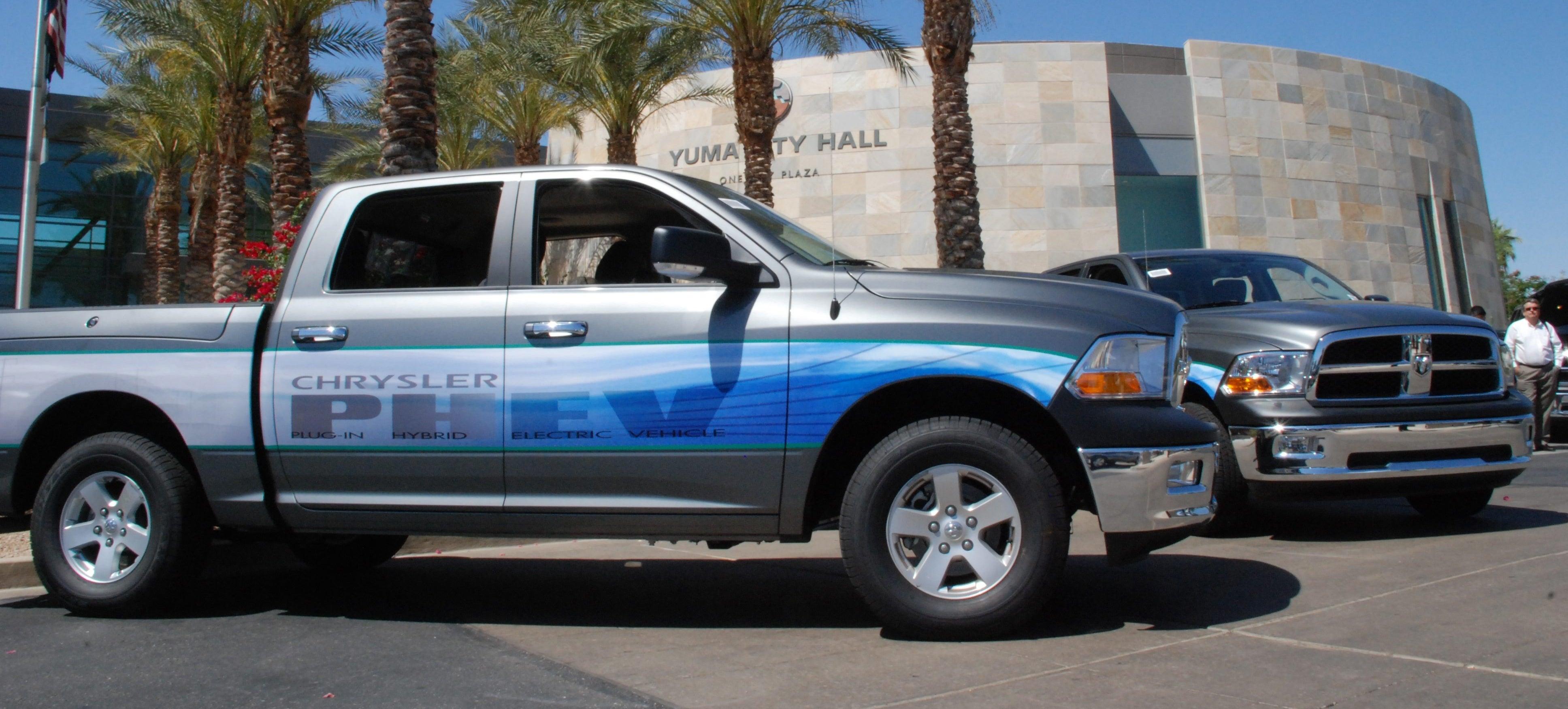 What Happened To Chrysler's Hybrid Trucks?