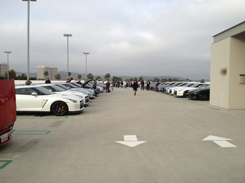 Went to Cars & Coffee Irvine today...
