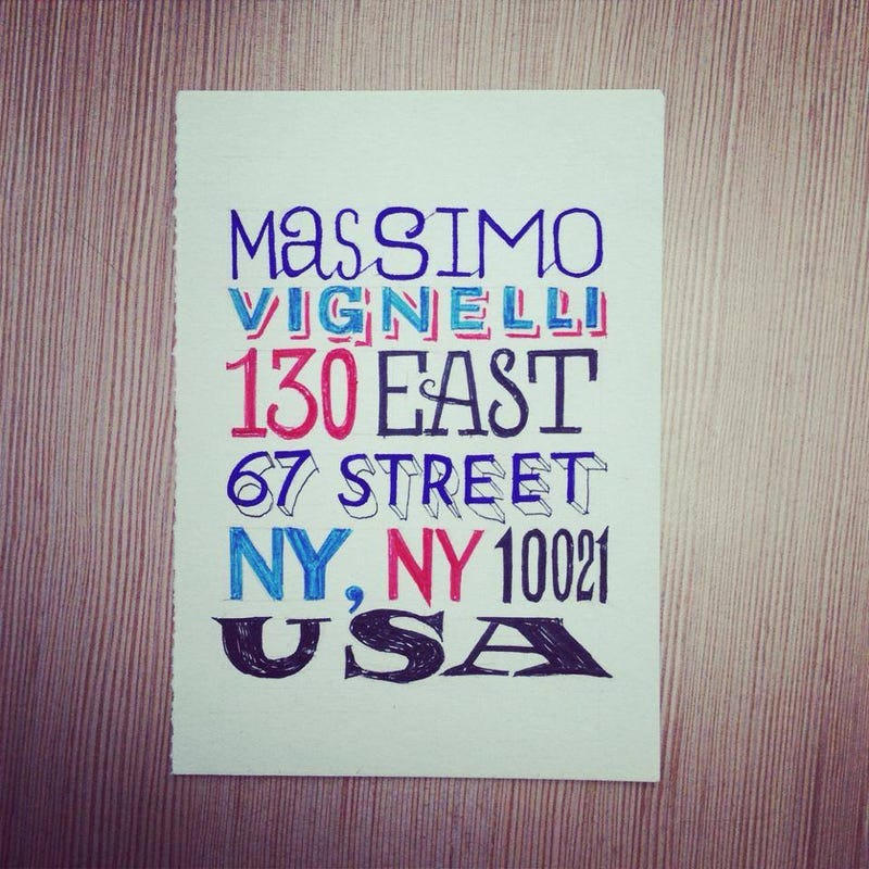 Dear Massimo: 12 Designers Who Penned Letters To Their Hero