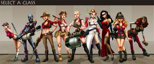 Team Fortress 2 Unlocks Its Feminine Side