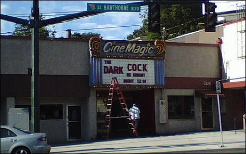 Movie Theatre Becomes Old Gay Porn Hut for Two Minutes