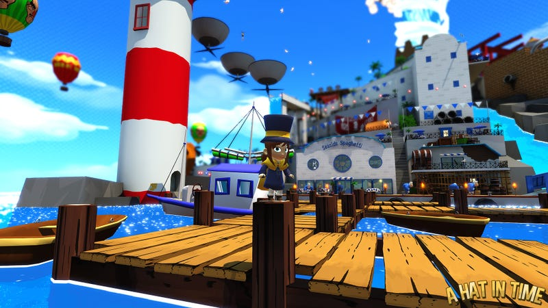 A Hat in Time - Alpha Trailer + New Pictures