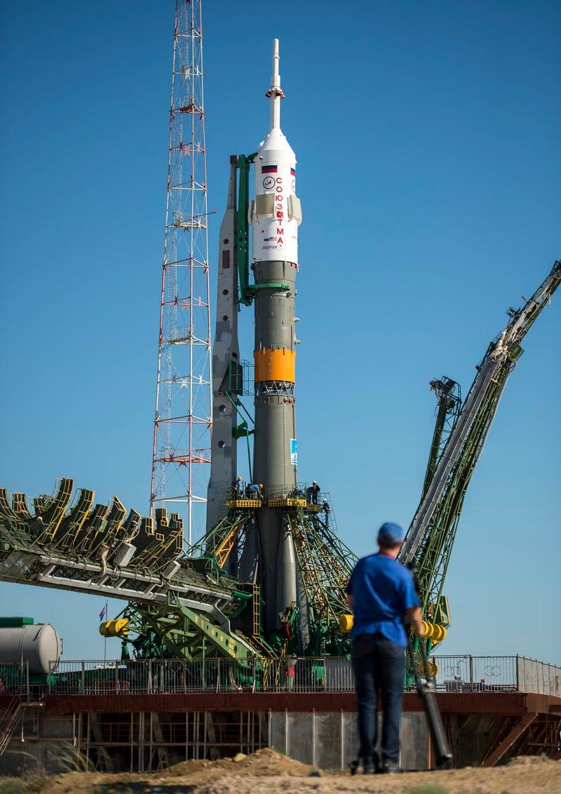 Watch Soyuz TMA-09M Rocket launch live RIGHT NOW