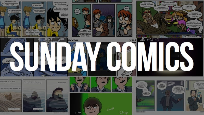 Sunday Comics: Smash Brothers