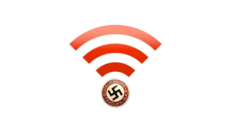 Apparently, Nazis Are Now Taking Their Hate to Wi-Fi In New Jersey