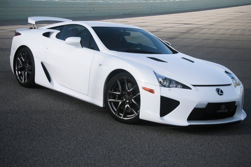 2011 lexus lfa first drive. Black Bedroom Furniture Sets. Home Design Ideas