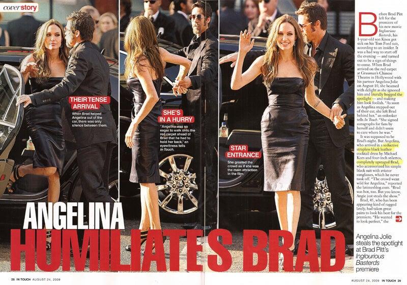 This Week In Tabloids: Angie Humiliates Brad; Sarah Palin Plots Divorce