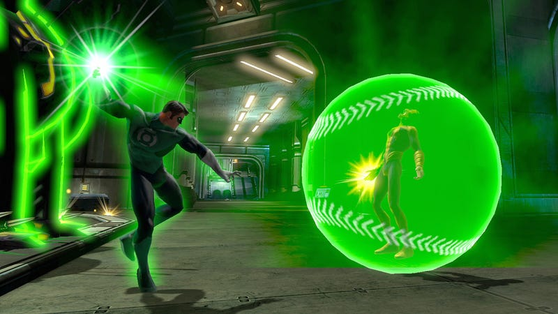 Bane, A Giant Green Baseball, Show Up In The New DC Universe Screens