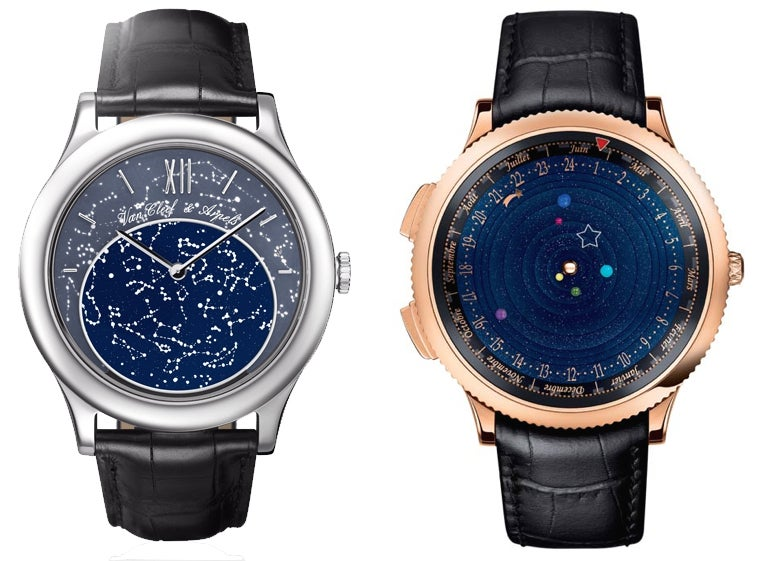 this planetarium watch is elegant impressive and expensive