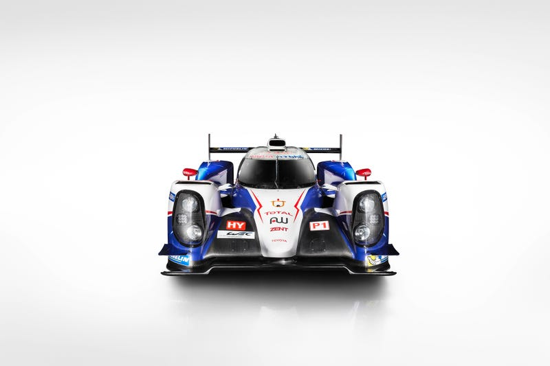 This Is Toyota's 1,000 Horsepower AWD Hybrid Le Mans Weapon