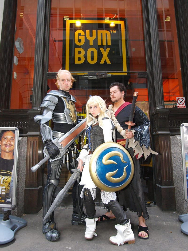 Namco Bandai Celebrates UK SoulCalibur V Launch With Fitness Classes