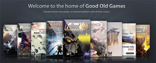 """CD Projekt To Sell """"Good Old Games"""" DRM-Free"""