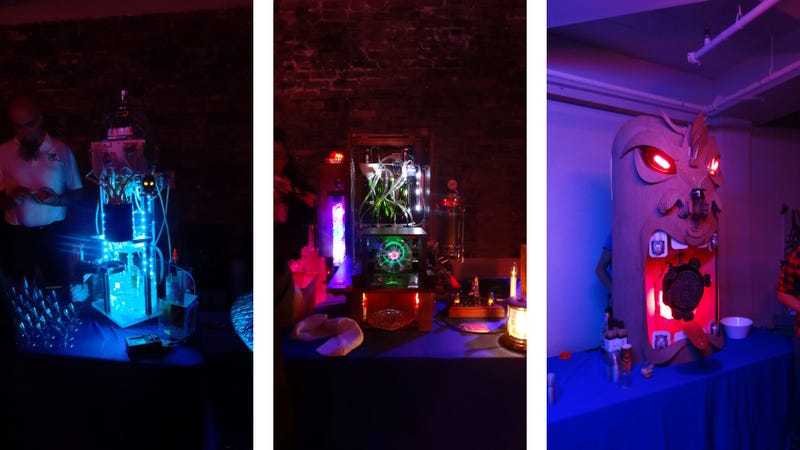 A San Francisco Cocktail Party Where the Bartenders Are All Robots