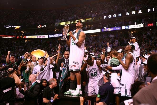 Congratulations, 2008 NBA Champions Boston Celtics