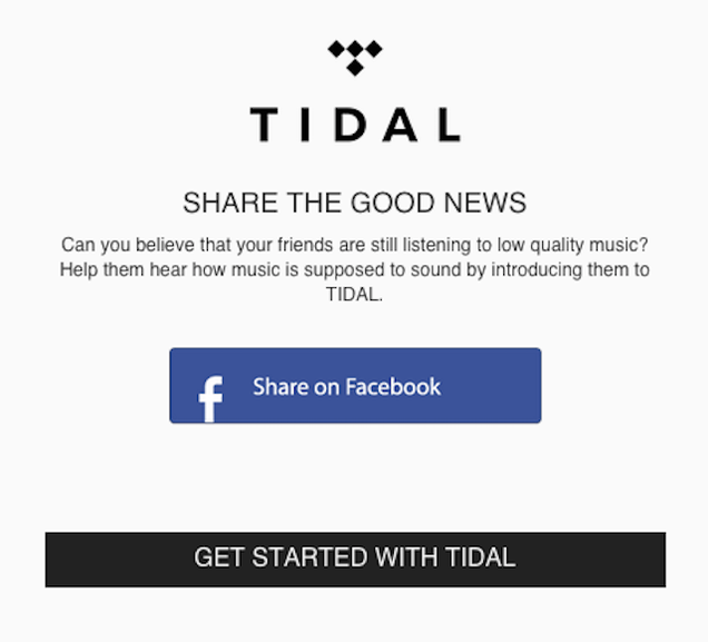 I Tried Tidal and It Sucked