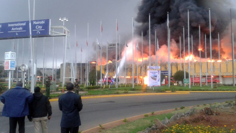 Worst Firefighters Ever May Have Looted Nairobi Airport During Blaze
