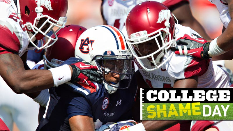 College ShameDay: Who Embarrassed Themselves On Saturday (Besides Auburn; Auburn Is Just The Worst)?