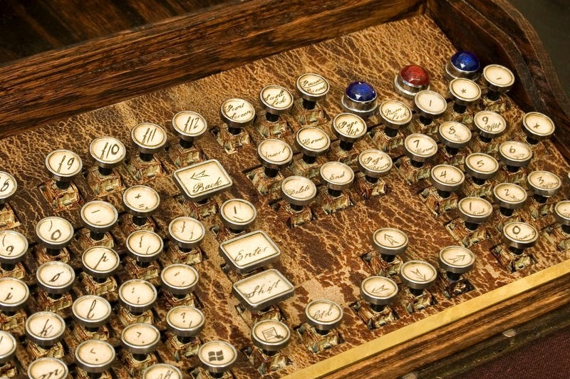 These Steampunk Computers Transport Us To The Victorian Retro Future