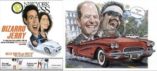 What's Hot Now: Drawing Jews And Hispanics In Convertibles