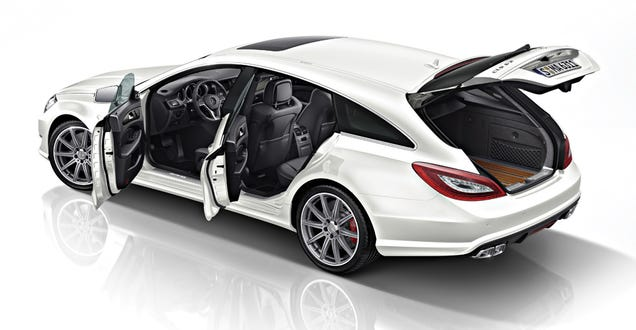 This Is How 4 Door Coupes Can Be Cool