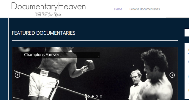 Watch Thousands of Free Movies at Documentary Heaven
