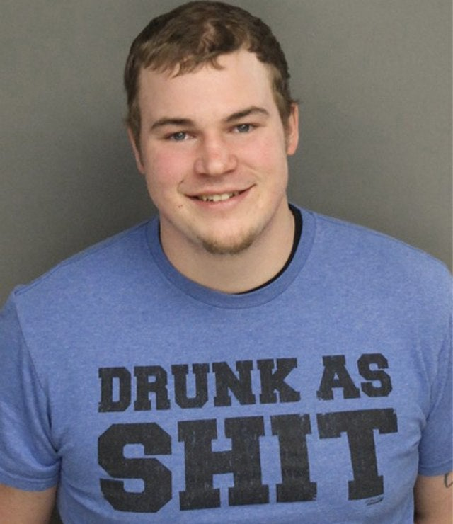 Man Arrested for DUI While Wearing Dumbest Possible Shirt